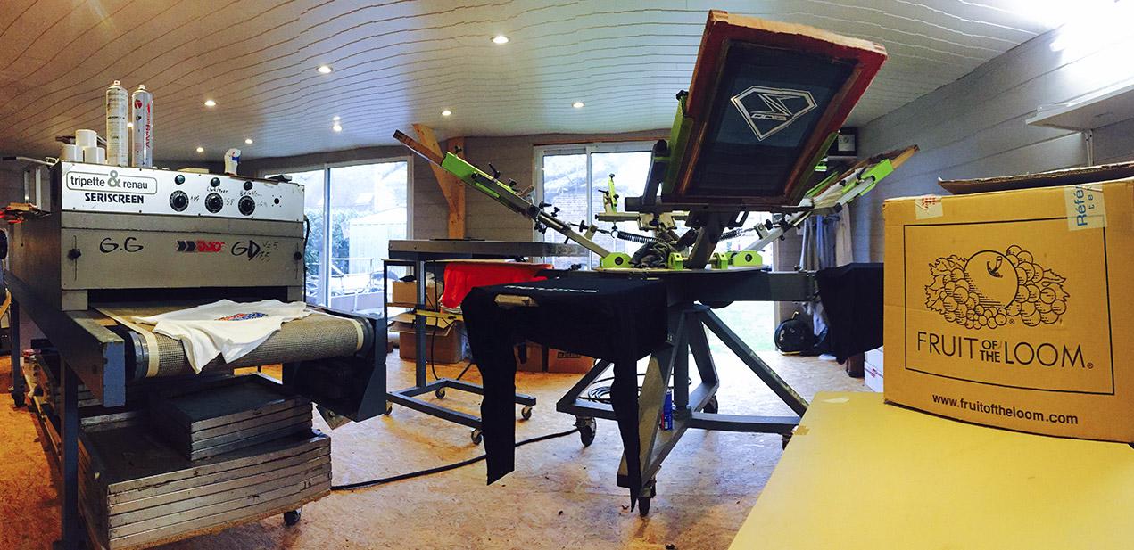 Atelier sérigraphie textile Evreux Impression numérique sérigraphie Evreux